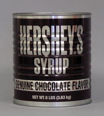 Hershey's in a can!