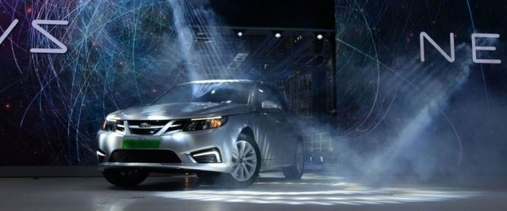 NEVS Presented 9-3 Series Electric Sedan