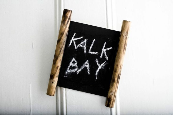 Kalk Bay door sign