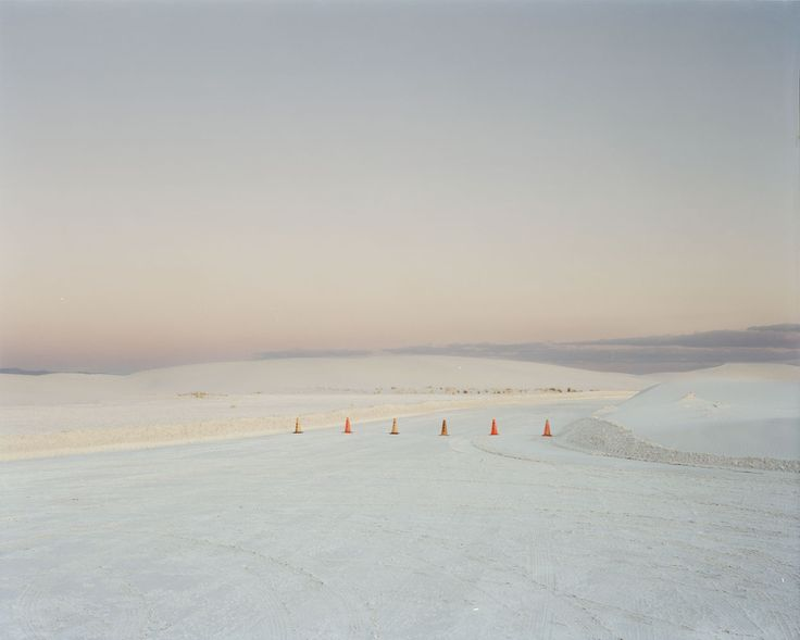 Nadav Kander (Israeli, b. 1961)Road Closure, New Mexico, USA© Nadav Kander/Courtesy of Edwynn Houk Gallery
