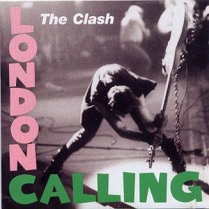 The album's front cover features a photograph of Simonon smashing his Fender Precision Bass (on display at the Cleveland Rock and Roll Hall of Fame as of May 2009) against the stage at The Palladium in New York City on 21 September 1979 during the Clash Take the Fifth US tour