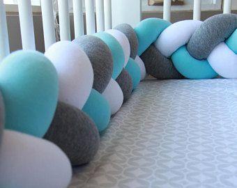 Braided Crib Bumper Knot Pillow Knot Cushion Decorative