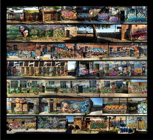 Michael Awad, Laneway, Graffiti, Toronto, 2011