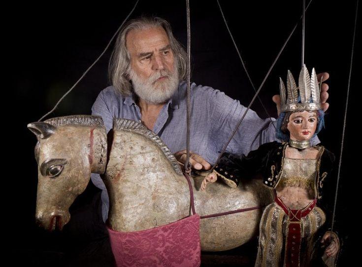 Mimmo Cuticchio, a Parma la bottega del re dei pupari