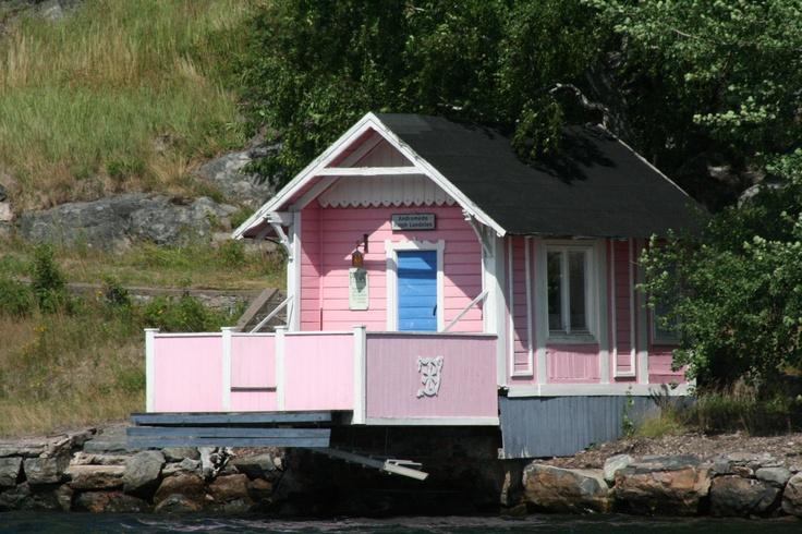 Sauna in Stockholm archipelago
