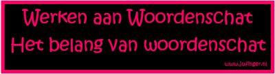 Juf Inger: Werken aan Woordenschat - 1