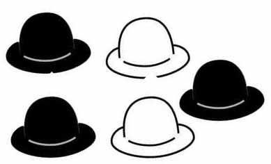 sombrero charlin chaplin