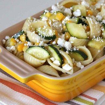 Zucchini and Corn Pasta Salad