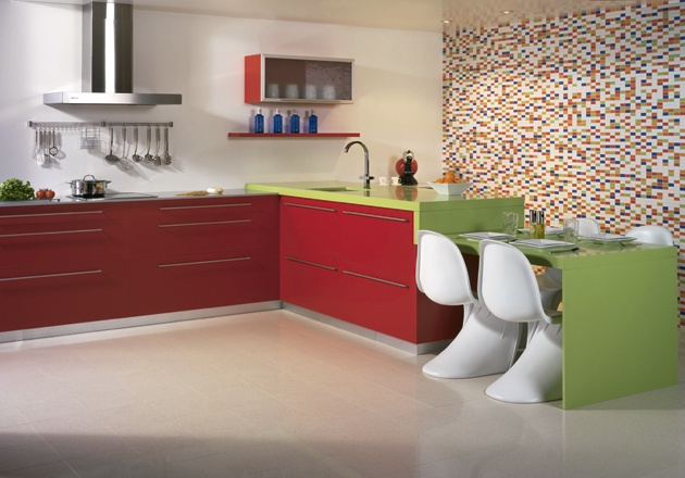 #Silestone GREEN FUN #UnionTiles #Kitchen #Counters http://www.silestonesa.co.za
