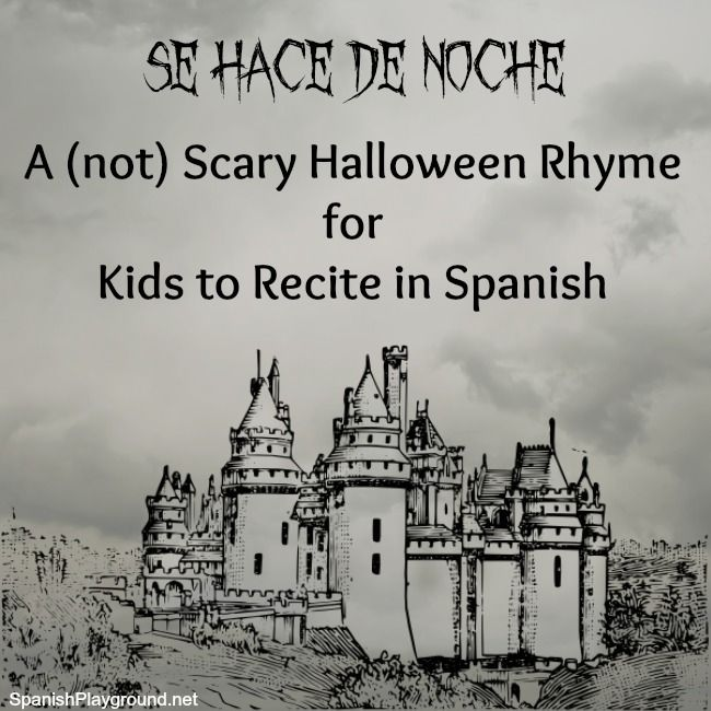 A traditional Spanish joke in the form of a (not) scary story. Perfect for kids learning to Spanish to tell at Halloween!