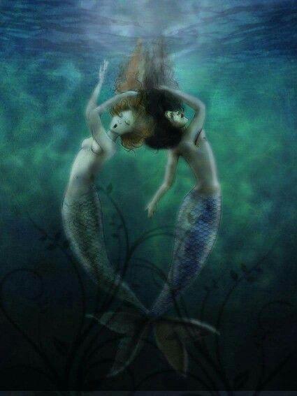 Il canto delle sommerse Sirens Illustration Digital illustration