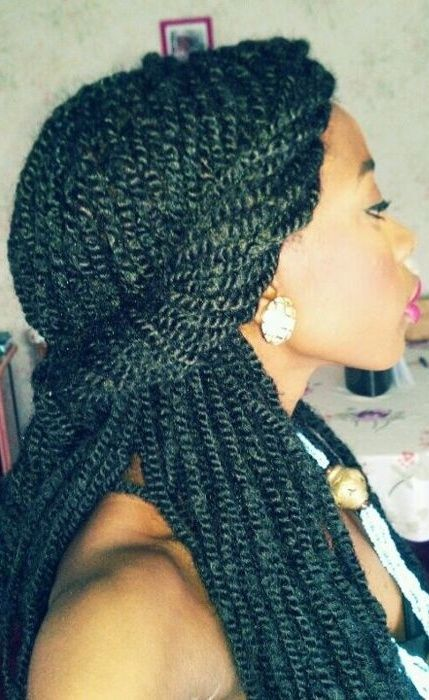 Strange 1000 Images About Kinky Twist On Pinterest Kinky Twists Black Hairstyle Inspiration Daily Dogsangcom