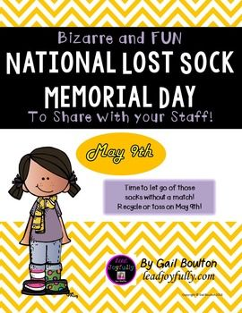 national lost sock memorial day
