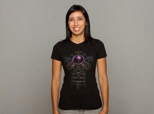 Jinx Diablo 3 women's wizard shirt