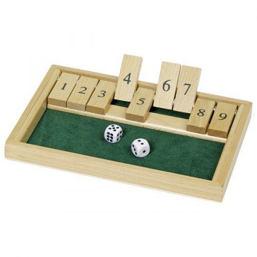 Εκπαιδευτικό παιχνίδι Κλείσε το κουτί/ Shut the box game