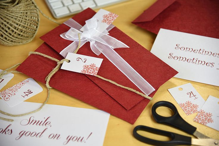 Countdown to #Christmas #adventcalendar made with #Twist #Favini #envelopes http://shop.favini.com/en/prod_det_paper.php?cid=2_9&pid=40