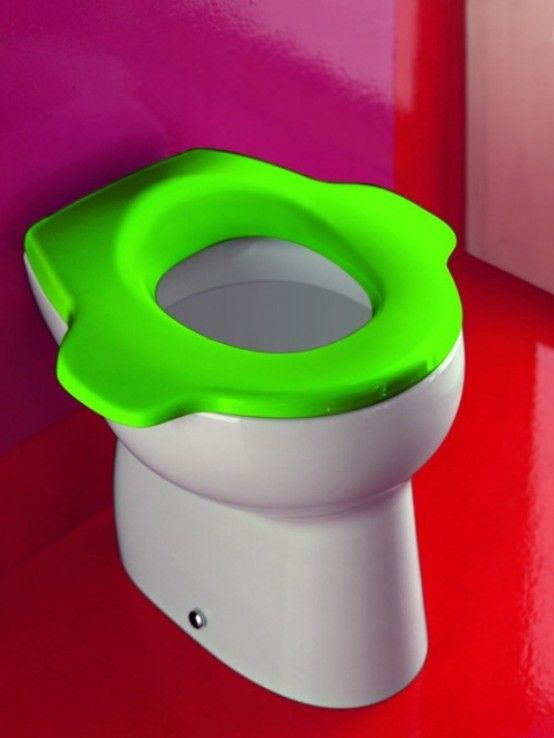 Colorful Kids Bathroom Furniture by Laufen
