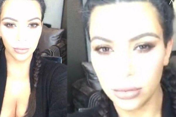 Kim prometeu utilizar as redes sociais para relatar seus esforços para perder peso