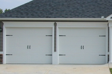 9x7 182 door no windows carriage hardware www for Carriage style garage doors with windows