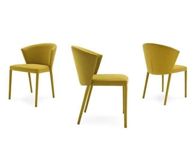 Sedie imbottite di design i modelli di tendenza per il for Sedie design 2015