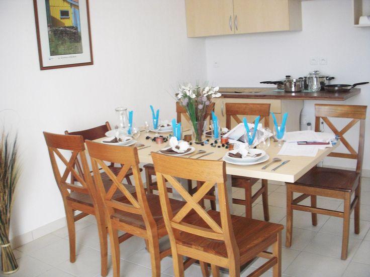 La kitchenette d'un appartement à St Gilles Croix de vie