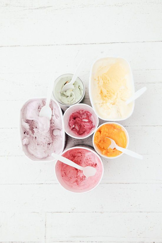 ice cream color perfection