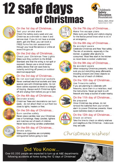 Pin by PrepareFirst Baby & Child Safety on Christmas