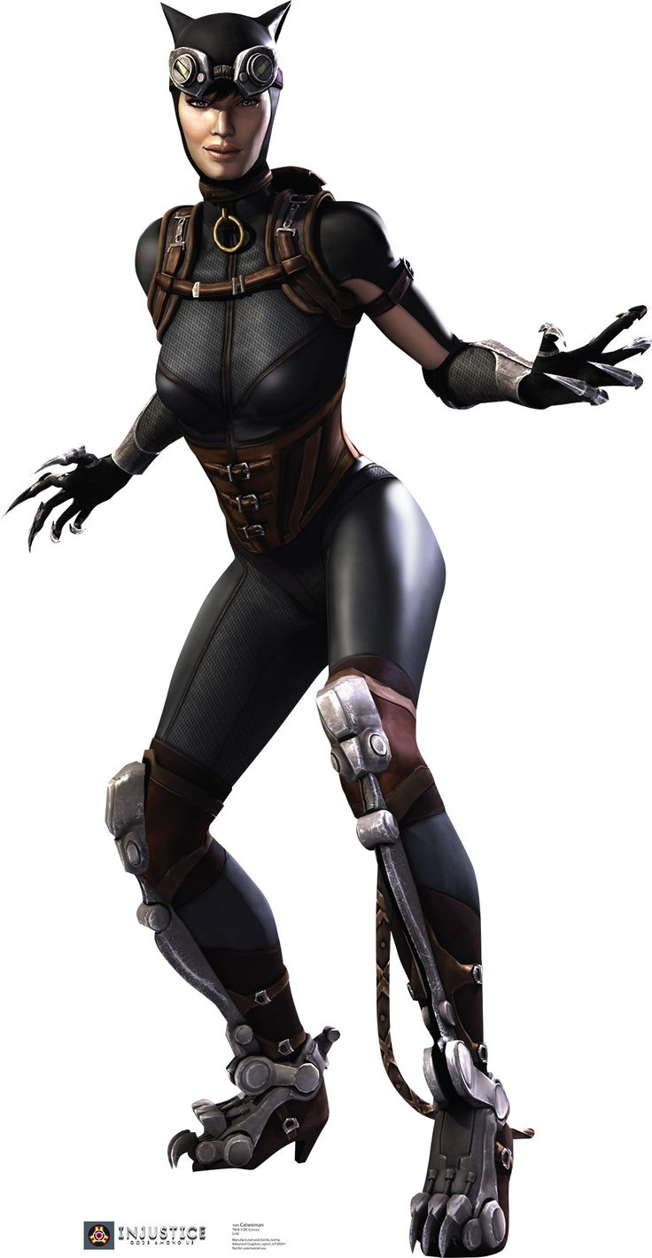 Catwoman - Injustice DC Comics Game Cardboard Standup - Visit to grab an amazing super hero shirt now on sale!