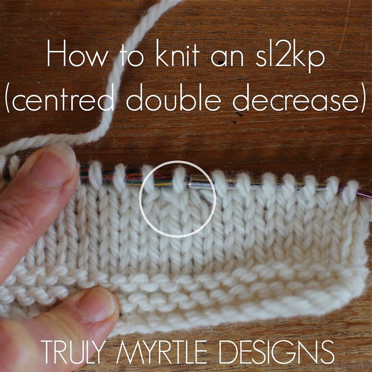 Knitting In The Round Decreasing Stitches : 1000+ images about knitting-decrease/increase on Pinterest The stitch, How ...