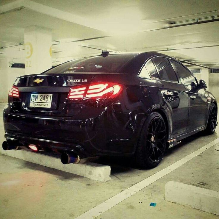 Blacked out Chevy Cruze