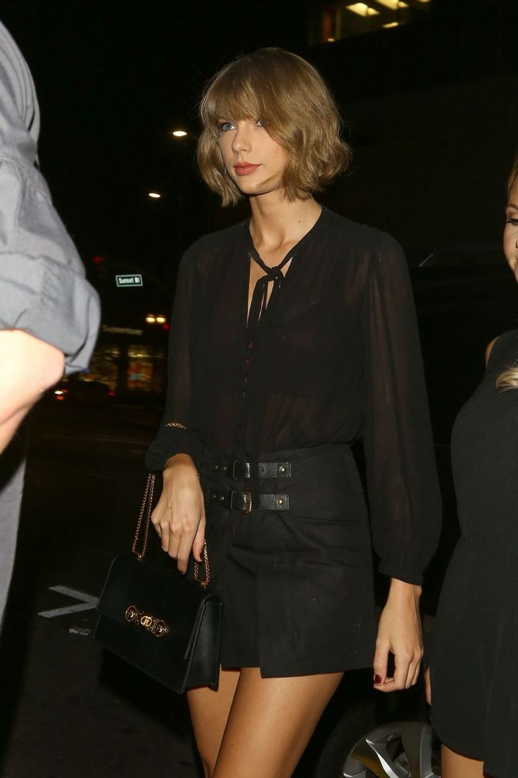 Taylor leaving Reese Witherspoon's birthday party in Los Angeles 3.19.16