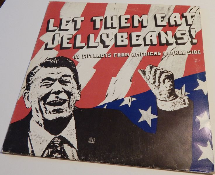 Vintage Vinyl Record Album Let Them Eat Jellybeans 1981