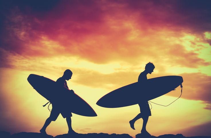 Retro Sunset Surfers by Mr Doomits on 500px