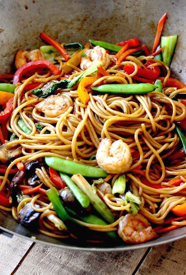 Shrimp Lo Mein Recipe By SeasonWithSpice