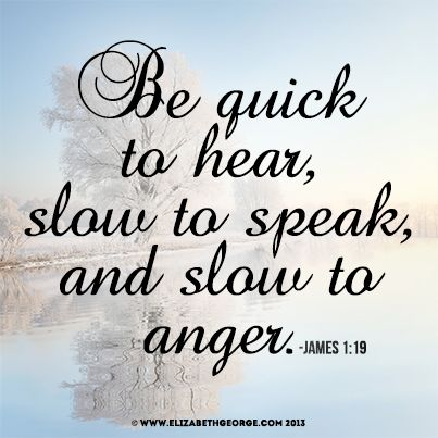 Image result for slow to anger in scripture