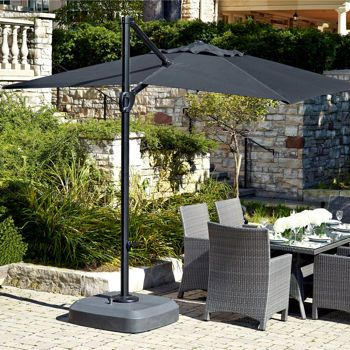 monaco pistol grip cantilever umbrella patio pinterest
