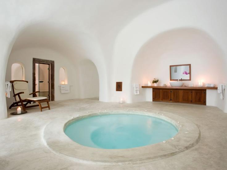 Perivolas hotel in Santorini, Greece.