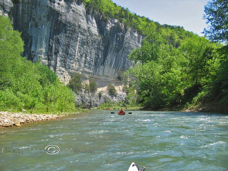 White Buffalo River Near Mountain Home Ar Where The Rivers Join Beautiful