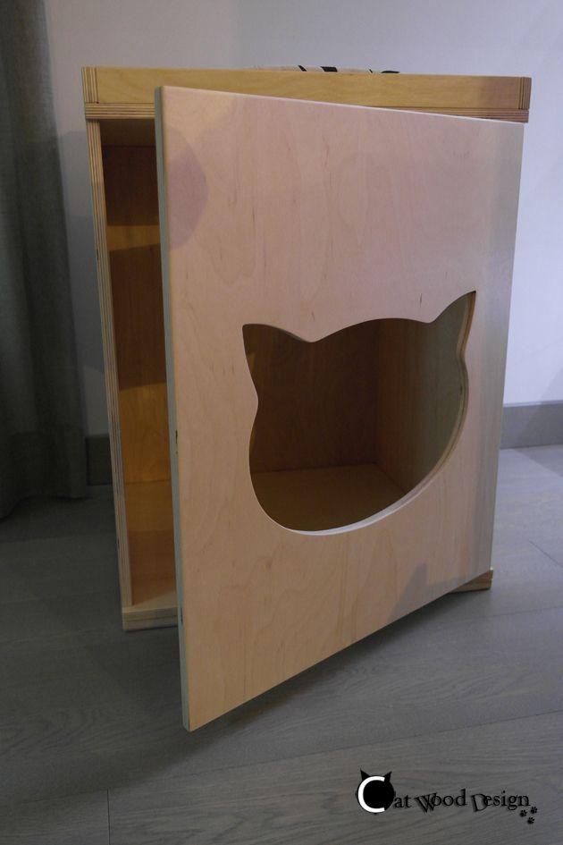 armadio #toilette #gatti per #nascondere la #lettiera #cat