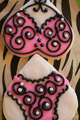Lingerie CookiesLingerie Parties, Cookies Monsters, Cookies Decor, Food Sweets, Cookies Cake, Addict Sweets, Pajamas Parties, Lingerie Cookies, Cooking Bak Ideas