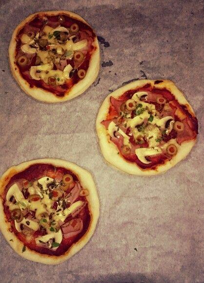 Domácí picolliny pizza