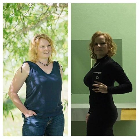 This is MIchelle Culberson's Slim Roast Success Story! <3 This is me, another before and after shot. I lost a majority of my weight (nearly 30 lbs) in the first 5 months and have been maintaining since then. I am a week away from my 1 year anniversary, so 7 months! But more than that, my Fibromyalgia and depression symptoms have been massively reduced. I have my life back! This isn't a diet, it's a lifestyle and DO I EVER FEEL GOOD! http://www.orderslimroast.com/NancyComee/?SOURCE=Pinterest