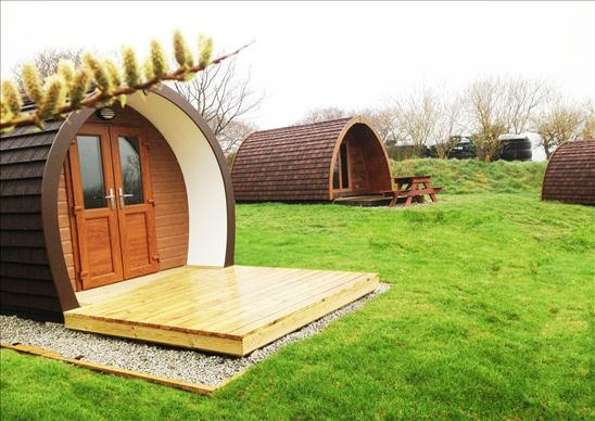 New Camping Pod, now available to rent  from £38 per night, beautiful and warm