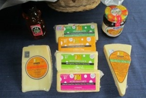 The Cheese Guy makes some delicious cheese and now you can win a basket of cheese for yourself.