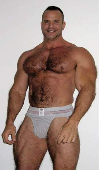 Opinion Hairy chest jock