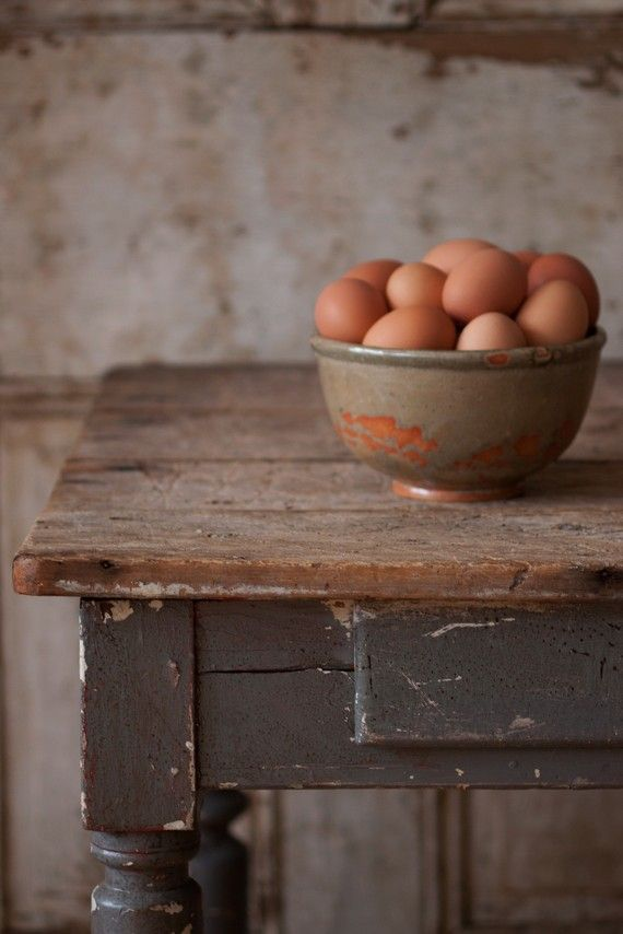 'Sunday Morning'  By Allison DandreaFresh Eggs, Farms House, Sunday Mornings, Farmhouse Style, Farmhouse Kitchens, Farmhouse Tables, Country Life, Farms Tables, French Home