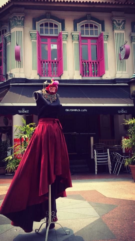 One of the gorgeous skirts at Boutique Cafe by Ratianah in Arab Street.  Source: Boutique Cafe by Ratianah Facebook page