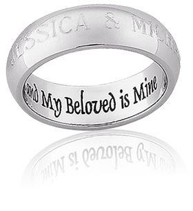 engraved wedding bands - Wedding Ring Engraving Ideas