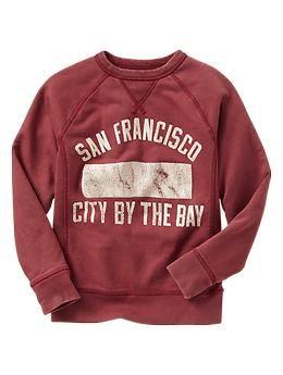 Vintage graphic sweatshirt