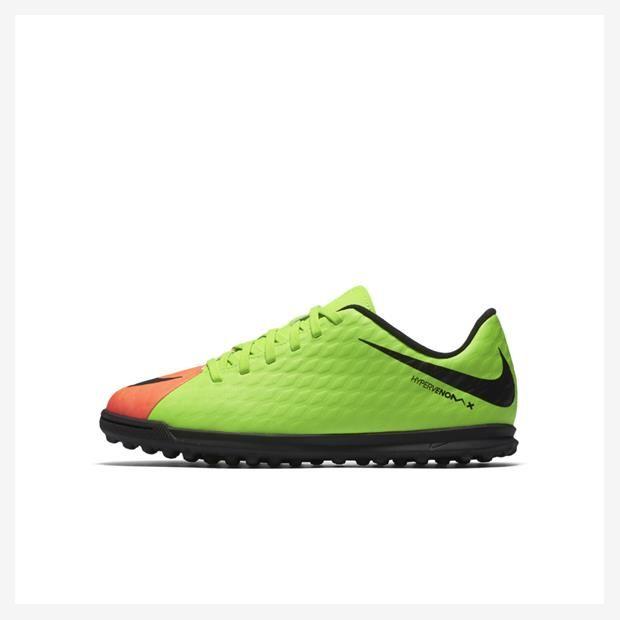Chuteira Nike HyperVenomX Phade III Society Infantil(0 Reviews)  Pré-Adolescentes Futebol Cano Baixo
